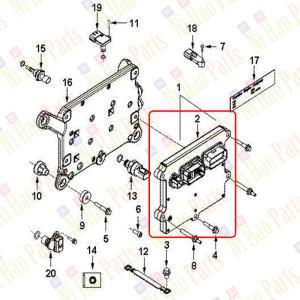 Блок-управления-двигателем-Е-3